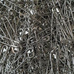 TOP QUALITY NICKEL SAFETY PINS - 5 x SIZES - 20mm / 55mm - Loose