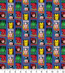 "** Marvel Comics ""  FABRIC - 100% COTTON"