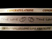 ** CELEBRATION RIBBON - CONGRATULATIONS, HEALTH , LOVE