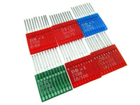 FLATBED INDUSTRIAL FIT SEWING MACHINE NEEDLES - Sizes 9/10/11/14/16/18