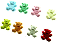 TEDDY BEAR BUTTONS - 15mm - CHILDRENS BABY BUTTONS - CN28
