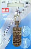 PRYM FASHION ZIP PULLER / ZIPPER PULL - 8 TYPES - ThreadandTrimmings