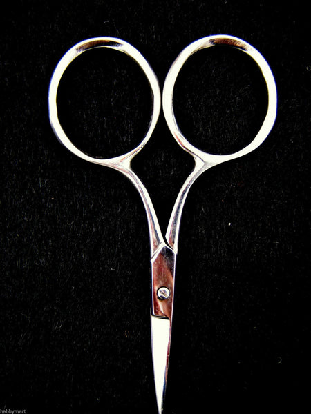 "3.5"" BOW , WIDE, CURVED & STRAIGHT DECOUPAGE & EMBROIDERY SCISSORS - ThreadandTrimmings"