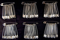 45mm LARGE SAFETY PINS / (1.75 INCH)