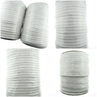 ** SMOOTH WHITE PIPING CORD  - BY THE ROLL - 4mm / 5mm / 6mm / 8mm