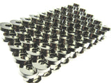 100 x 18mm MAGNETIC BAG FASTENERS - GOLD , SILVER , BLACK , ANTIQUE BRASS