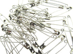 ** 50 x 54mm / 2 INCH NICKEL PLATED STEEL SAFETY PINS