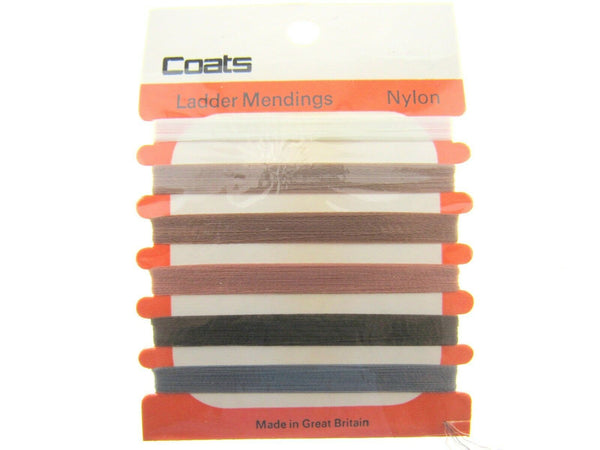 ** COATS NYLON LADDER REPAIR THREAD for STOCKINGS and TIGHTS