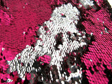 ** Mermaid Reversible Sequin Fabric with 5mm Sequins. Choose from 10 Colour Ways - ThreadandTrimmings