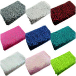 ** Sequin Dance Wear Fabric - Polyester/Spandex - 310 GSM - ThreadandTrimmings