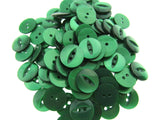 100 x FISH EYE BUTTONS - 20 GREAT COLOURS & 4 POPULAR SIZES
