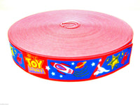 CHILDRENS PRINTED DESIGN WAIST BAND ELASTIC 28mm WIDE - SUITABLE for BELTS