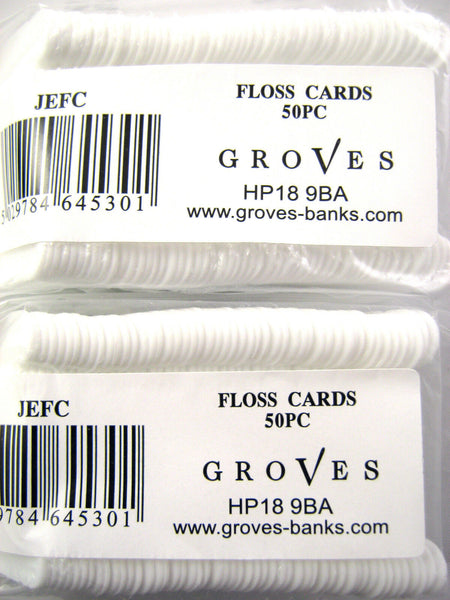 PLASTIC EMBROIDERY FLOSS CARDS
