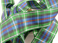 Scottish Tartan Ribbon Black Watch, Cameron, Buchanan, Mackenzie, Dress Stuart