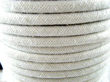 ** 8mm SMOOTH THICK WHITE PIPING CORD - (5/16th Inch) - PRICED PER METER