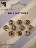 ** SNAP FASTENERS / NICKLE PLATED BRASS SNAP FASTENERS - RUST PROOF