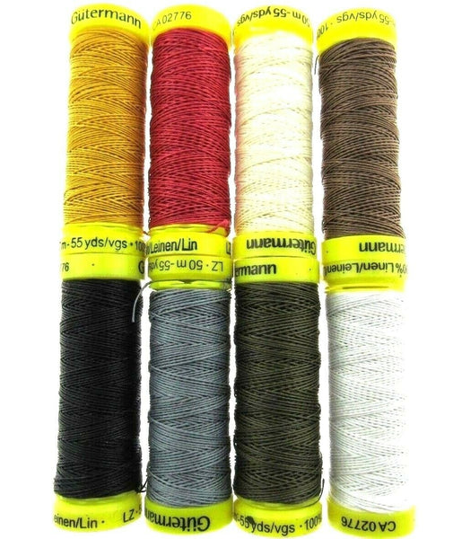 ** 50m GUTERMANN STRONG LINEN THREAD / HAND / MACHINE SEWING / UPHOLSTERY - ThreadandTrimmings