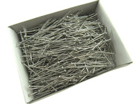 ** 500 GRAMS of 50mm NICKEL PLATED PINS - AMAZONA - APPROX 1000 PINS