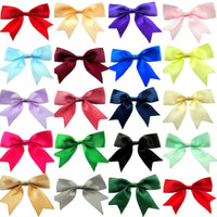 ** 25mm SATIN RIBBON BOW TAILS - SCRAP BOOK - CRAFTING - EMBELLISHMENT (08625S)