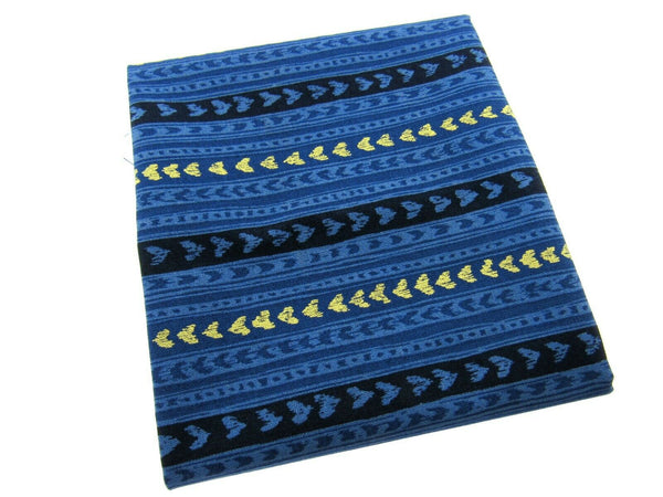"**MICHAEL MILLER ""CATS CRADLE - LOVE LINES"" - NAVY- FAT QUARTER- LOVE HEARTS - ThreadandTrimmings"
