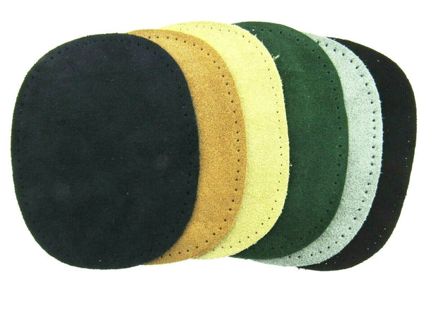 Suede Patches - Sew On - Elbow Patches by Kleiber - 100% Suede Wildleder Flecken - ThreadandTrimmings