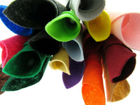 "** A4 Size Eco Felt Craft Fabric - 9"" x 12""  - Made of Recycled Bottles - ThreadandTrimmings"