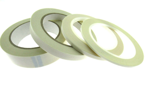 ** GENERAL DOUBLE SIDED STICKY TAPE 33M REELS - 4 SIZES TO CHOOSE FROM - ThreadandTrimmings