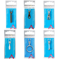 ZIPPER PULLERS by MILWARD FASHIONS (A COATS COMPANY) - ThreadandTrimmings