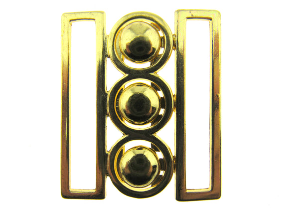 Gold Nurses Waspie Buckles - 4 x Sizes