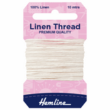 Linen Thread - 10 meter card by Hemline