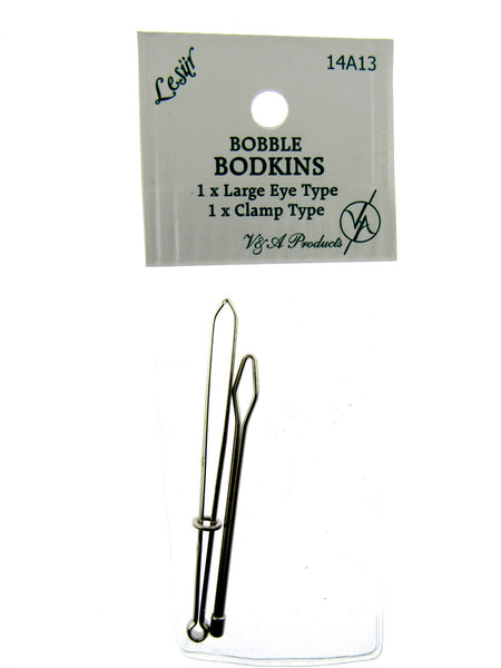 Bodkins - 2 Piece card - 1 x Clamp & 1 x Eye Type