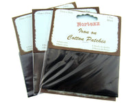 1 x Pair Nortexx Iron On COTTON Patches in a Hang Sell Card / 13cm x 10cm