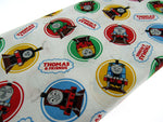 ** Thomas & Friends CLASSIC  - 100% COTTON FABRIC - White - 2714-01