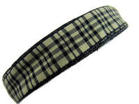 5 Meters of 25mm WIRED EDGE Plaid Tartan Ribbon - Great for Floristry Bows