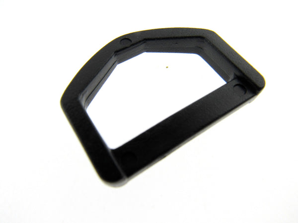 Black Plastic Delrin D Rings - 25mm and 38mm