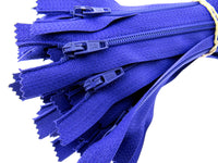 "10 x 16"" or 18"" - No3 Nylon Autolock Zips- Smooth Running- Quality Zip Fasteners"