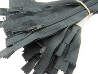 25 x AUTOLOCK  No 3 NYLON CUSHION ZIPS - 9 Colours & 6 Sizes - SMOOTH RUNNING - ThreadandTrimmings