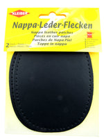 NAPPA LEATHER PATCHES - SEW-ON - PRE-PUNCHED - ELBOWS AND KNEES