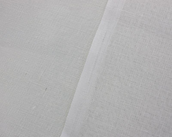 "WHITE MUSLIN - 100% COTTON - LIGHT WEIGHT - 70GSM / 152cm (60"")"