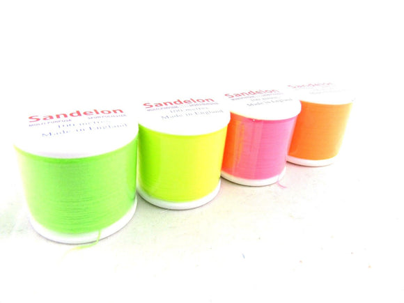 100m Fluorescent Polyester Overlocker Sewing Thread