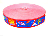 20 x meters Childrens Printed Design Elastic 28mm Wide - Suitable for Belts - ThreadandTrimmings
