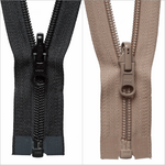 "YKK SLEEPING BAG ZIP with REVERSIBLE ZIP PULLER - 245cm / 96 "" - #5 ZIP CHAIN - ThreadandTrimmings"