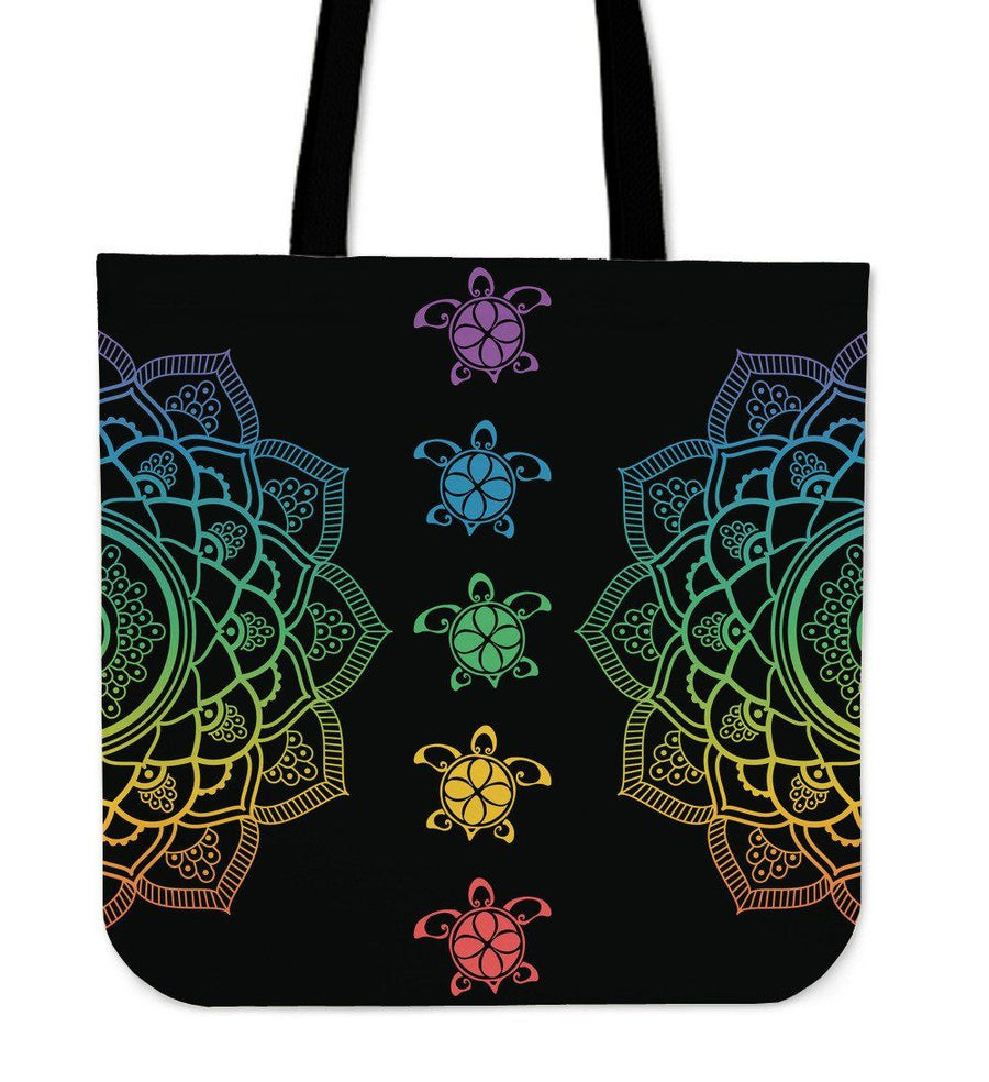 Sea Turtle Colorful Trip - Tote Bag