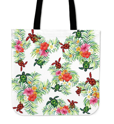 Pop Sea Turtle - Tote Bag - the ocean vibe Ocean Apparel