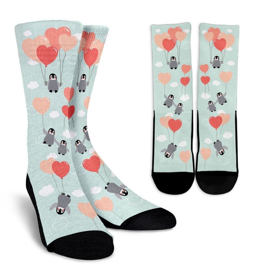 Penguins & Balloons - Socks