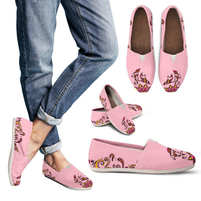 Beautiful Dolphin Sunset - Women's Casual Shoes