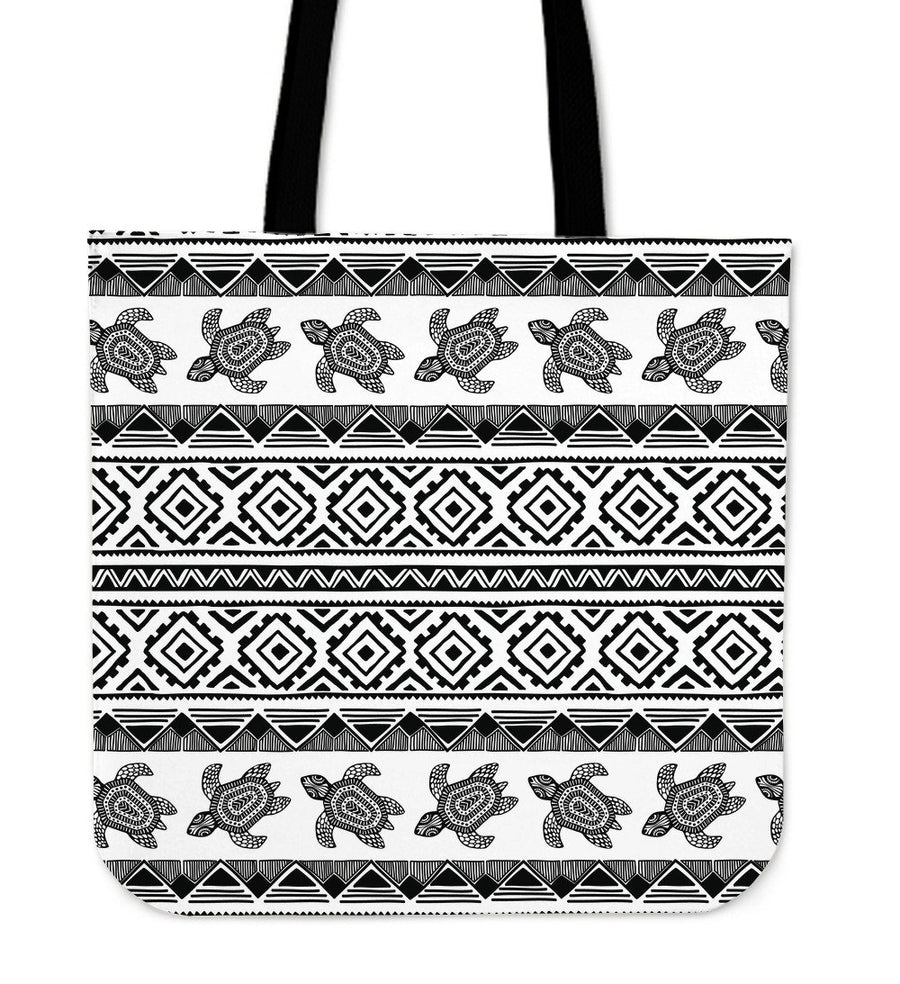 Ethnic Sea Turtle - Tote Bag