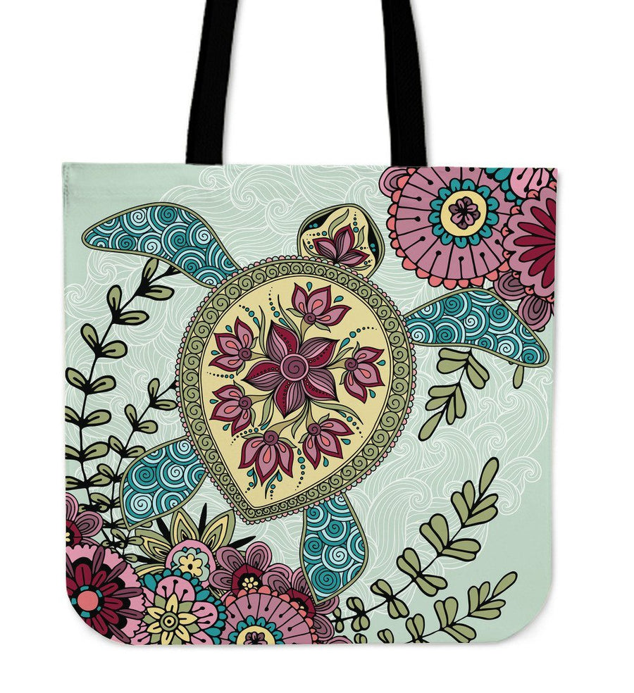 Zen Sea Turtle - Tote Bag