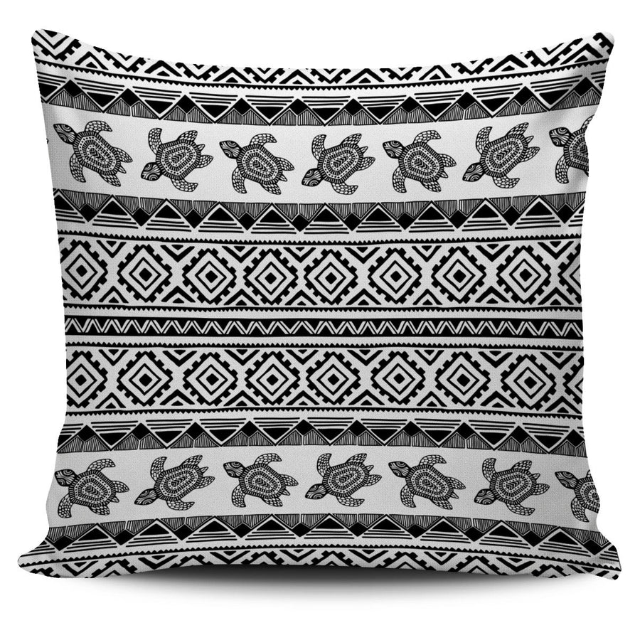 Ethnic Sea Turtle - Pillow Cover - the ocean vibe Ocean Apparel