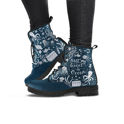 Lost in the Ocean - Women's Boots - the ocean vibe Ocean Apparel